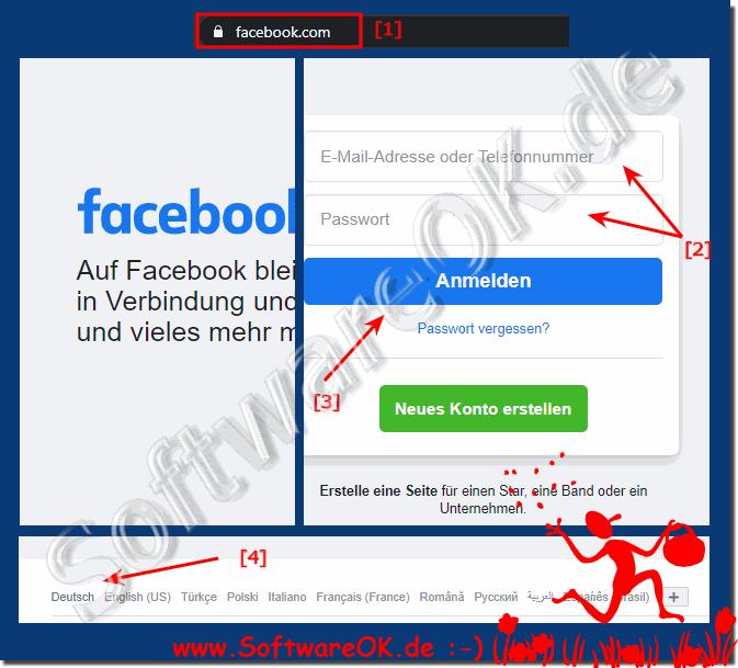 facebook de anmelden